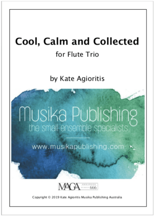 Cool, Calm and Collected – Flute Trio