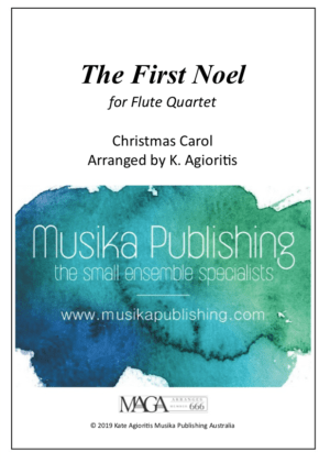 The First Noel – Flute Quartet