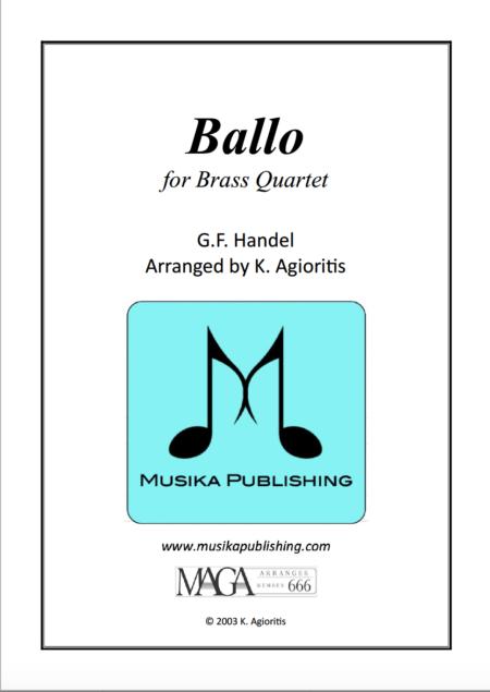 Ballo for Brass Quartet