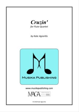 Cruzin' – for Young Flute Quartet