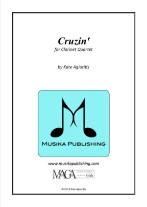 Cruzin' – for Young Clarinet Quartet