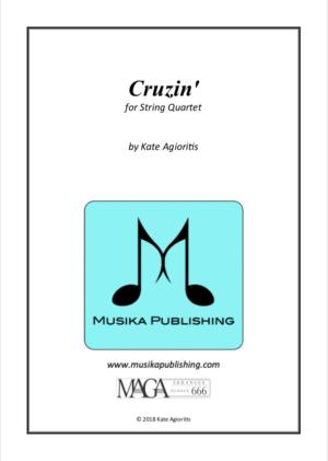 Cruzin' – for Young String Quartet