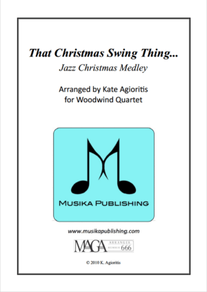 That Christmas Swing Thing – Woodwind Quartet