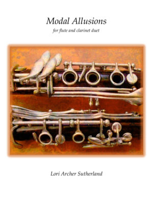 Modal Allusions for flute/clarinet duet