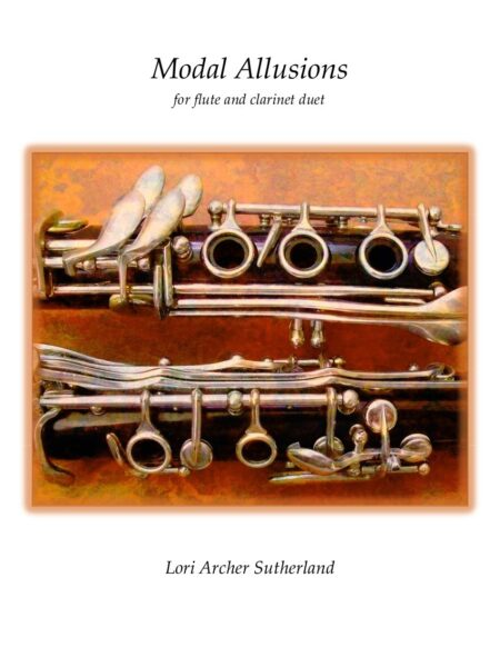 Modal Allusions for flute/clarinet duet cover