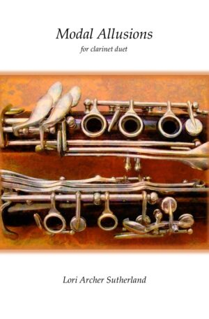 Modal Allusions for clarinet duet