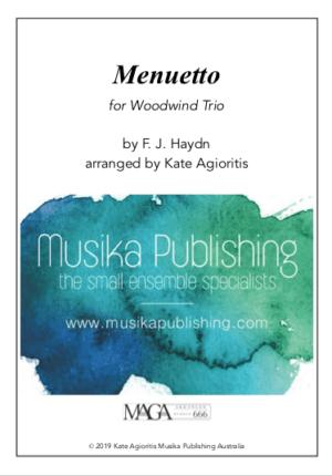 Menuetto – Woodwind Trio