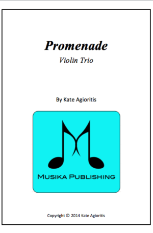 Promenade – Violin Trio
