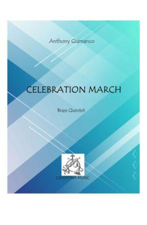 CELEBRATION MARCH – brass quintet