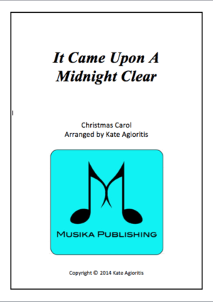 It Came Upon A Midnight Clear – Jazz Carol for Saxophone Quartet