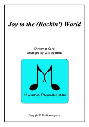 Joy to the (Rockin') World – for Clarinet Quartet