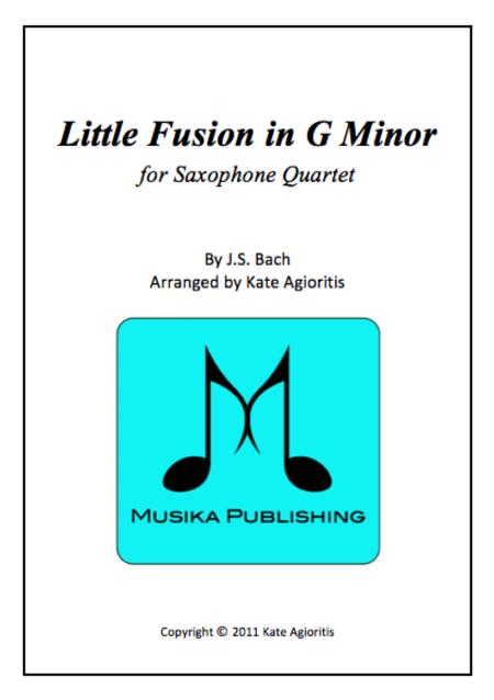 Little Fusion in G Minor - for Saxophone Quartet