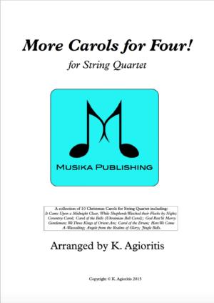 More Carols for Four – String Quartet