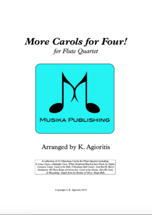 More Carols for Four – Flute Quartet