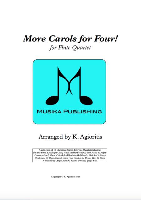 More Carols for Four - Flute Quartet