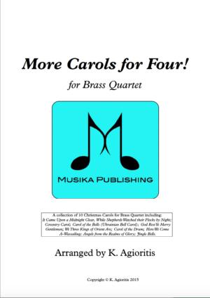 More Carols for Four – Brass Quartet