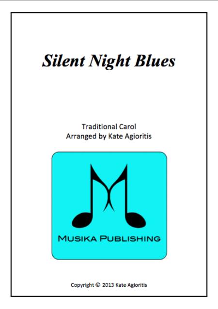 Silent Night Blues - Brass Quartet