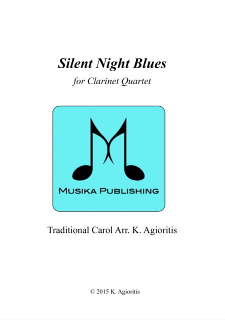 Silent Night Blues - Clarinet Quartet