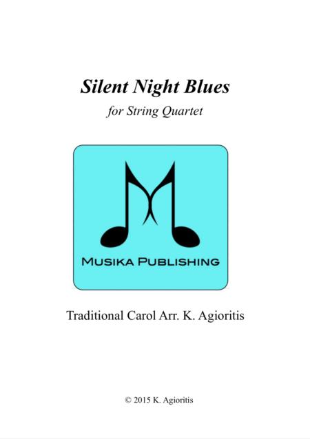 Silent Night Blues - String Quartet