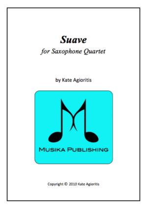 Suave – Saxophone Quartet
