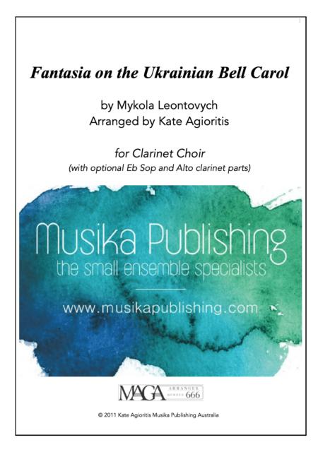 Fantasia Ukrainian Bell Carol Clarinet Choir