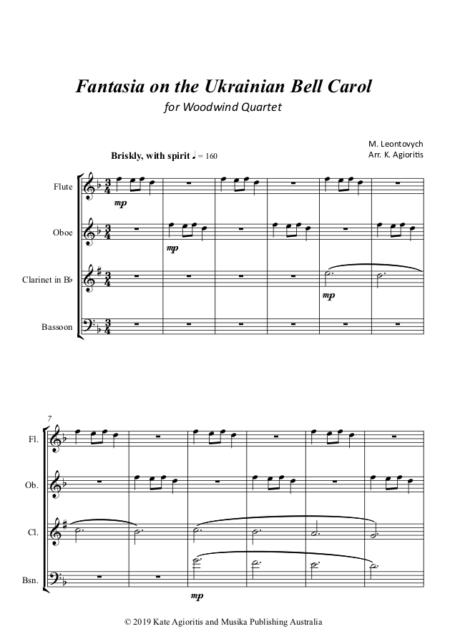 Fantasia WW Quartet