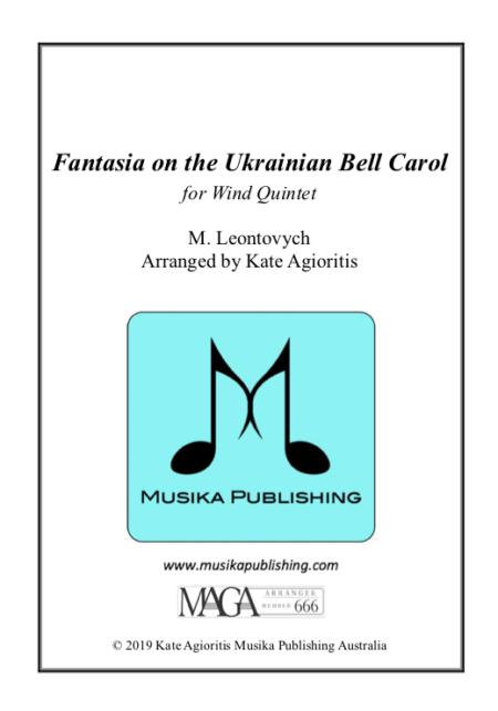 Fantasia on the Ukrainian Bell Carol - Wind Quintet