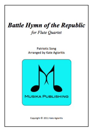 Battle Hymn of the Republic (Jazz Arrangement) – Flute Quartet