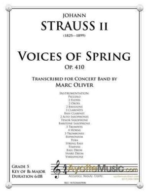 Voices of Spring, Op. 410