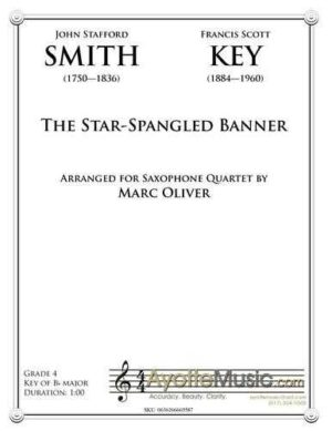 Star Spangled Banner (Saxophone Quartet)