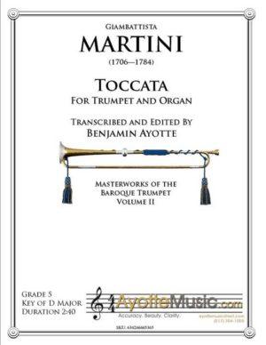 Martini – Toccata for Trumpet and Organ