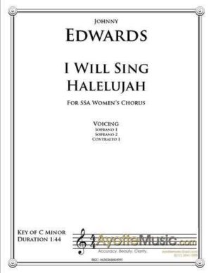 I Will Sing Halelujah