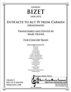 Entr'acte to Act IV of Carmen