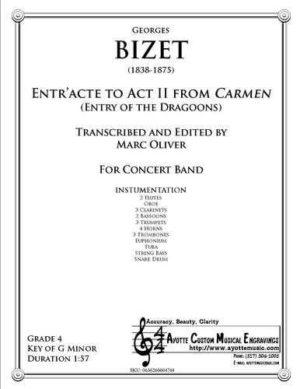 Entr'acte to Act II of Carmen