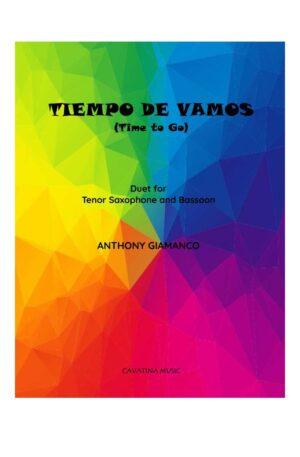 TIEMPO DE VAMOS – tenor sax and bassoon duet