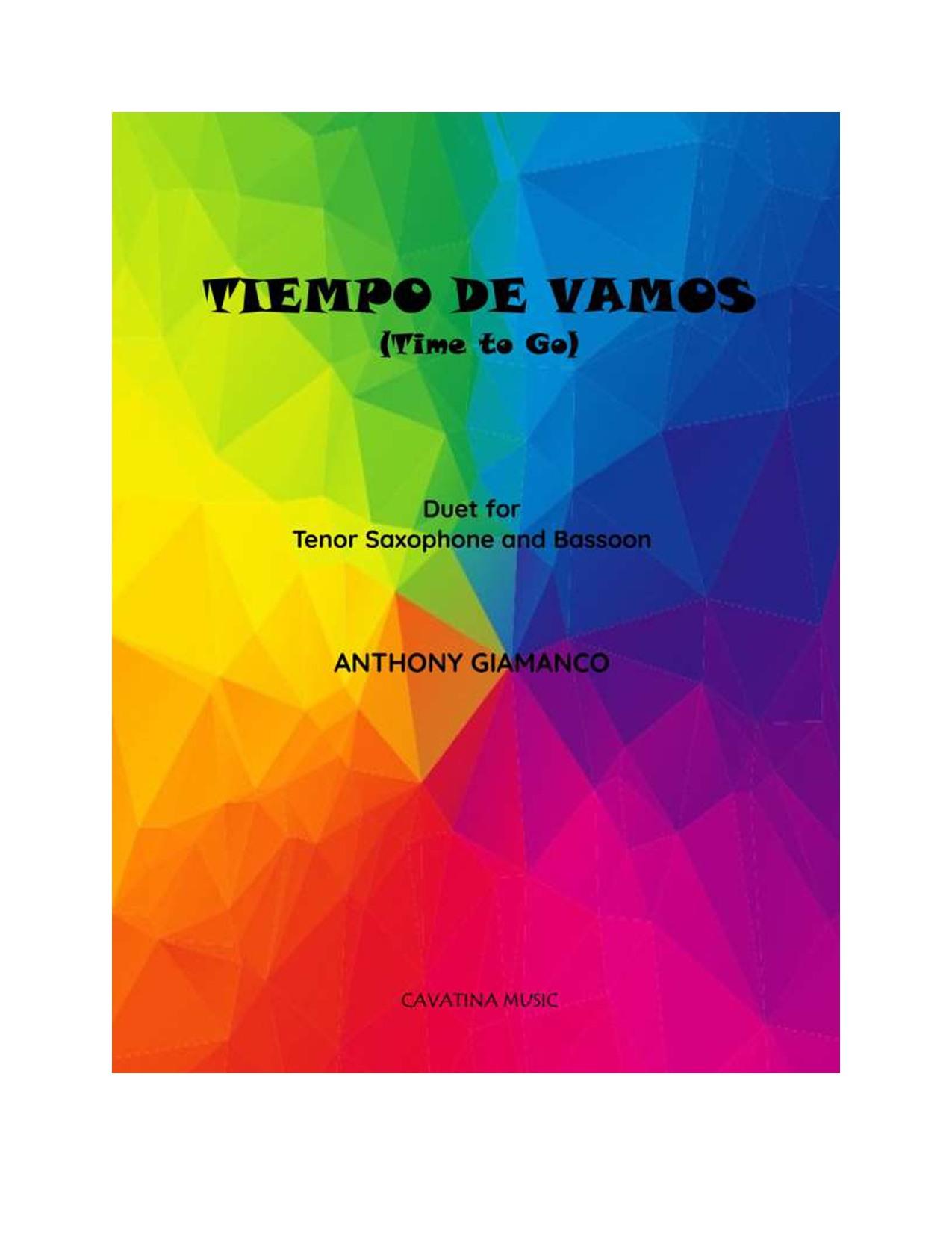 TIEMPO DE VAMOS - tenor sax, bassoon