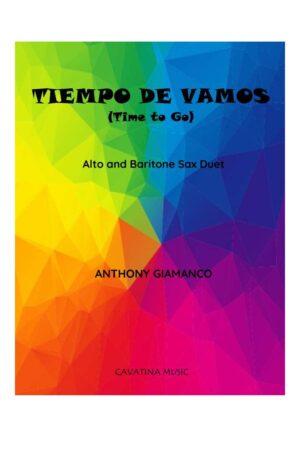 TIEMPO DE VAMOS – alto and baritone sax duet