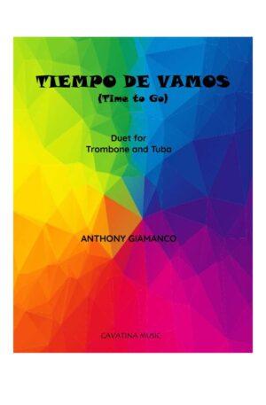 TIEMPO DE VAMOS – trombone and tuba duet