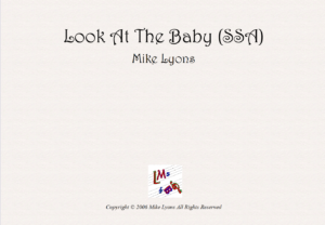 SSA – Fl, Hn and Piano – Look at the Baby