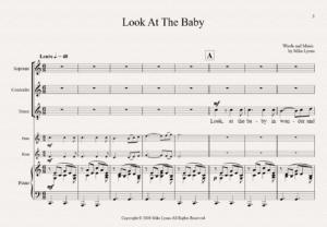 SAT – Fl, Hn and Piano – Look at the Baby