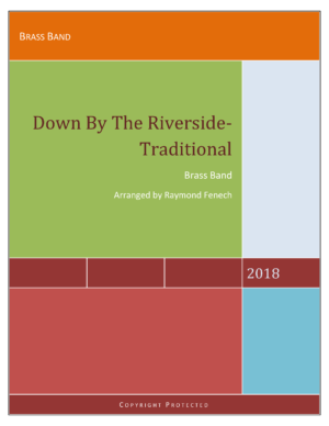 Down by the Riverside – Traditional – Brass Band