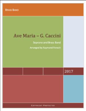 Ave Maria – G.Caccini – Soprano voice and Brass Band
