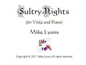 Viola Solo – Sultry Nights