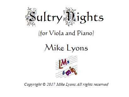 Sultry nights viola