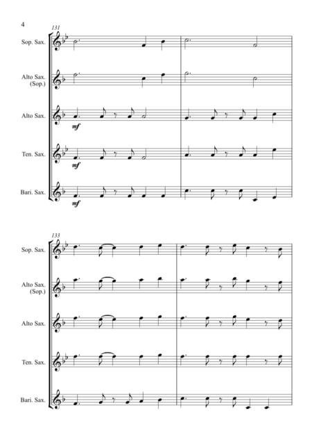 O Come All Ye Faithful Jazz Sax 54