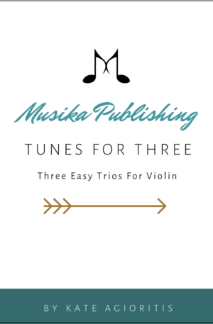 Tunes for Three – Violin Trio