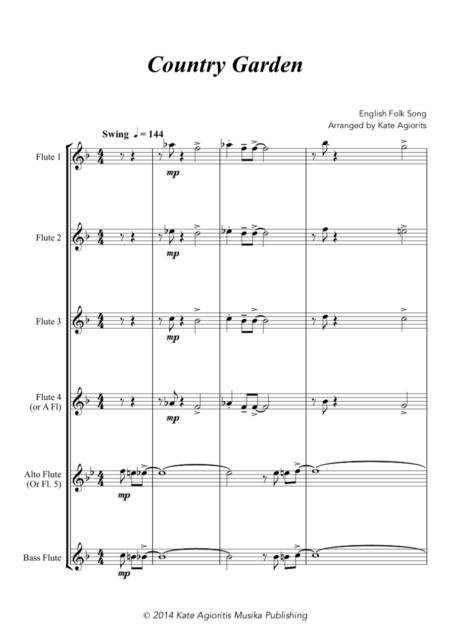Country Garden Flute Choir Garden Flute Choir