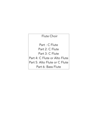 Country Garden – Jazz Arrangement for Flute Choir