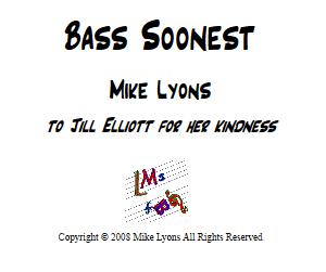 Bassoon Quartet – Bass Soonest