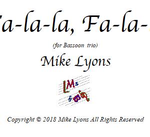 Bassoon Trio – Fa-la-la, Fa-la-la